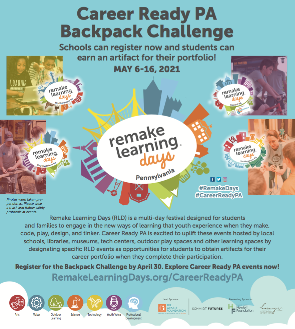 Career Ready PA Backpack Challenge