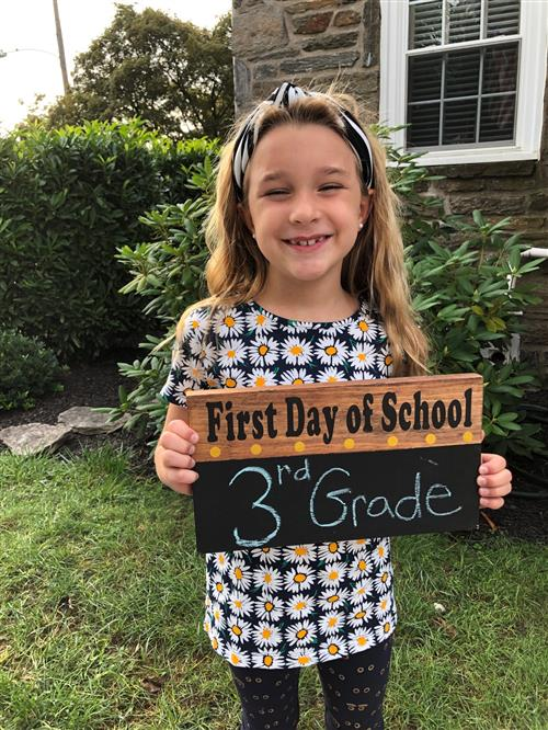 Aronimink Student ready for 2020-21