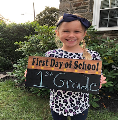 Ready for 1st grade!
