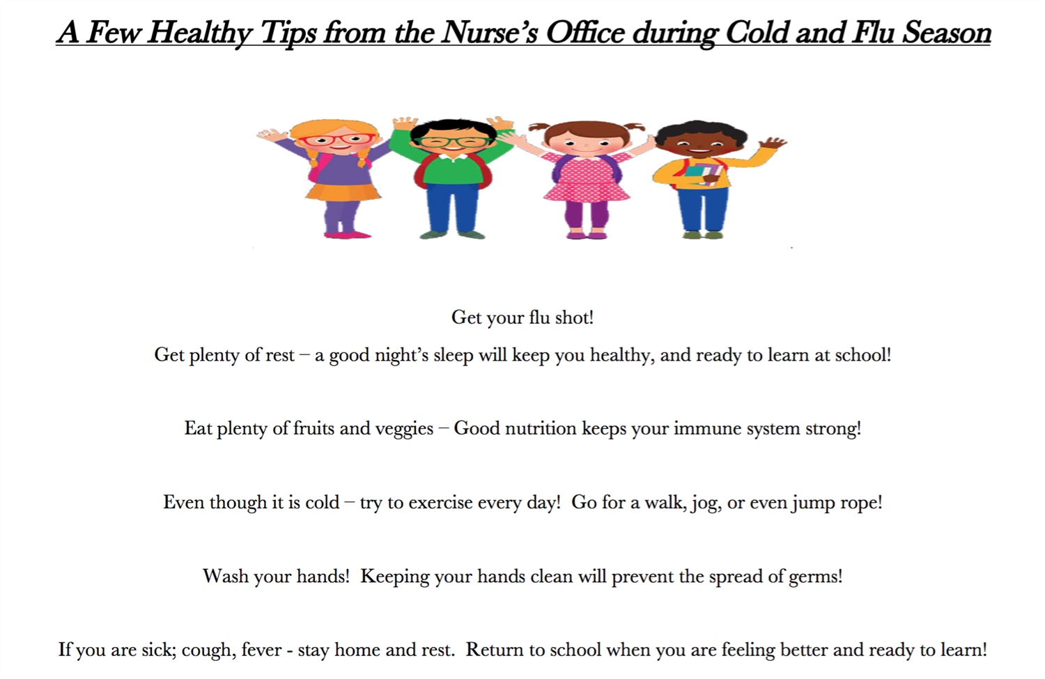 tips from nurse