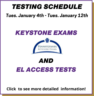 Announcement Keystones March 1 - 8